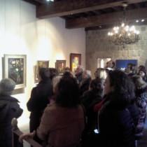 Visita dels Amics del Museu d'Art de Girona