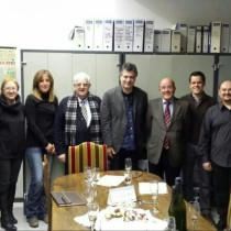 Acte de signatura de la donació del Castell de Cervià